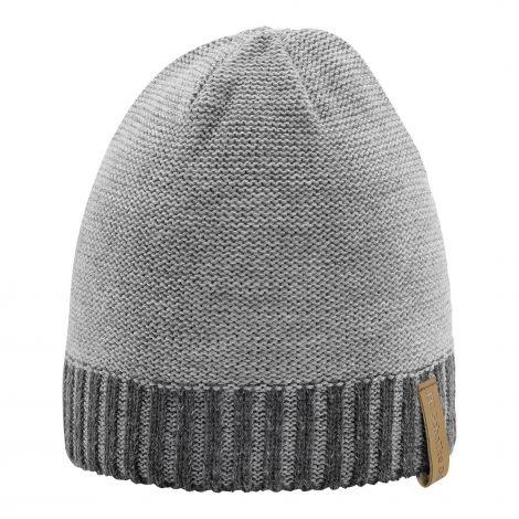 Mütze meliert grau