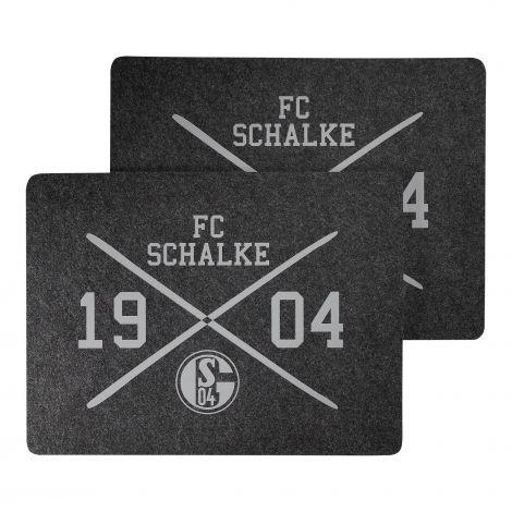 Platzdeckchen 2er-Pack Filz