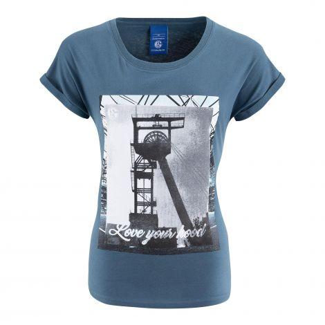 T-Shirt Damen Love your Hood