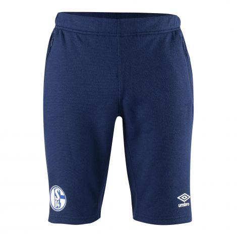 Sweat-Hose kurz Team blau