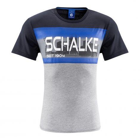 T-Shirt Schalke 04 marine