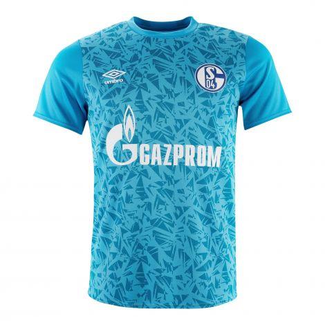 Aufwärm-Shirt Team hellblau