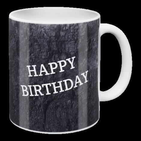 Kaffeebecher Happy Birthday!
