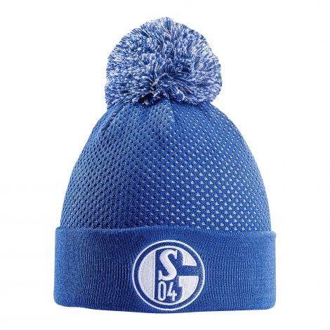 Mütze Bommel königsblau