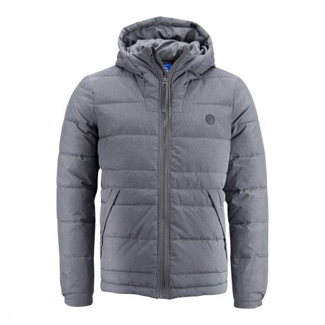 Quilted jacket grey melange