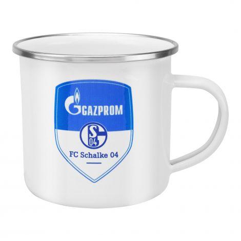 Tasse Emaille Gazprom