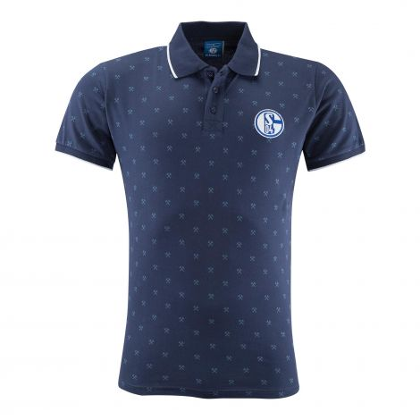 Polo Allover navy