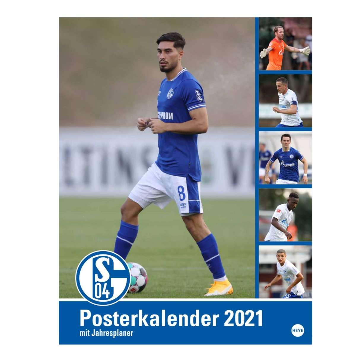 Schalke Kalender 2021