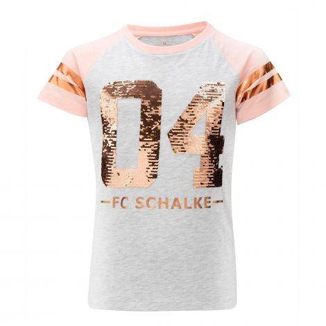 T-Shirt Mädchen Glitzer