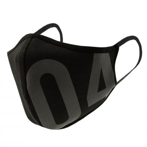 Mund- und Nasenmaske 04 schwarz Neo