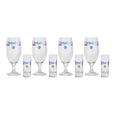 Schnapsglas & Pilsglas 8-teilig