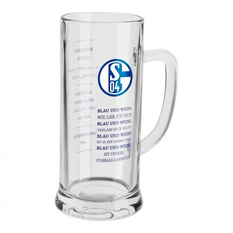Beer Mug Blue & White