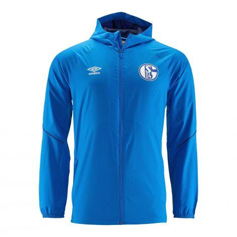 Regenjacke Team blau