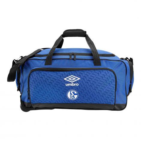 Teambag L blau mit Rollen