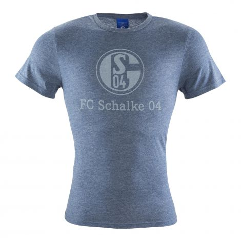 T-Shirt Kids Basic navy meliert