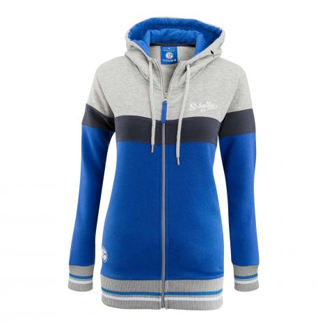 Sweat-Jacke Damen mit Kapuze