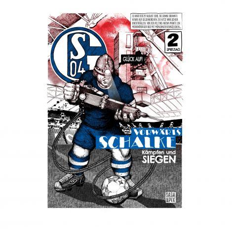 Kunstdruck Bergmann Comic