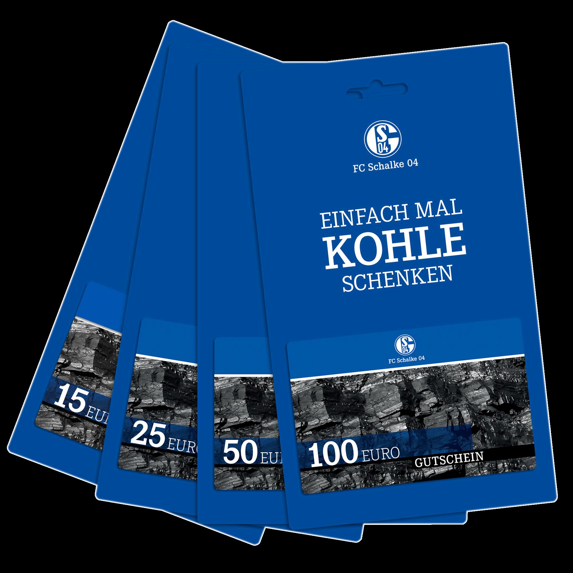2 x Schalker Knappenkarten von ......Erwin