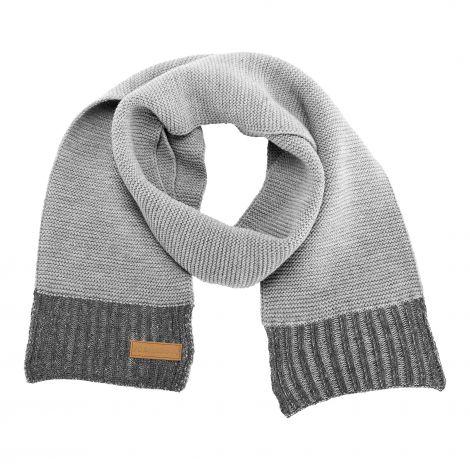 Schal meliert grau