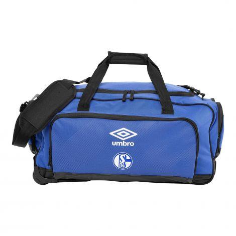 Teambag L mit Rollen königsblau