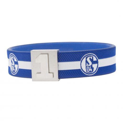 Schalke Armband Trikot - Nr. 1