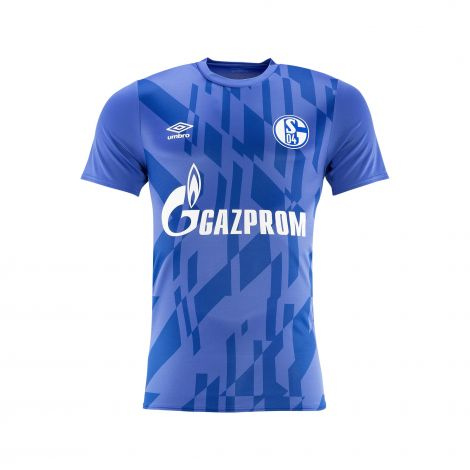 Aufwärm-Shirt Team Kids blau