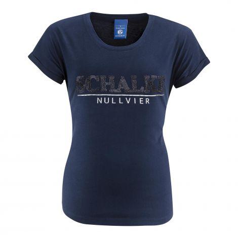 T-Shirt Damen Schalke marine