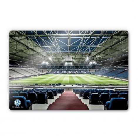Glasbild Arena 80 x 60 cm