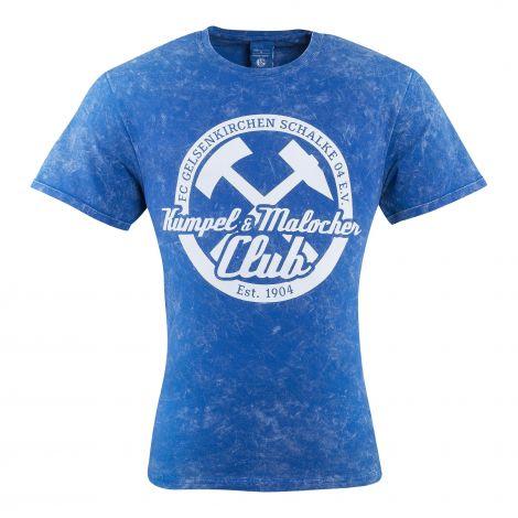T-Shirt Kumpel & Malocher washer königsblau