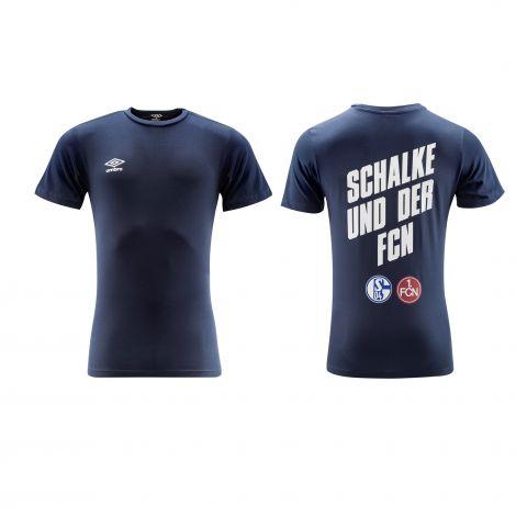 T-Shirt Schalke & FCN navy