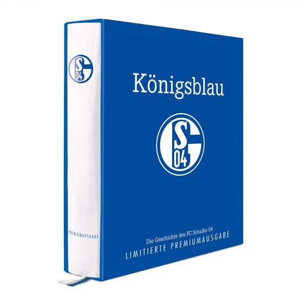 Buch königsblau Premium Signet