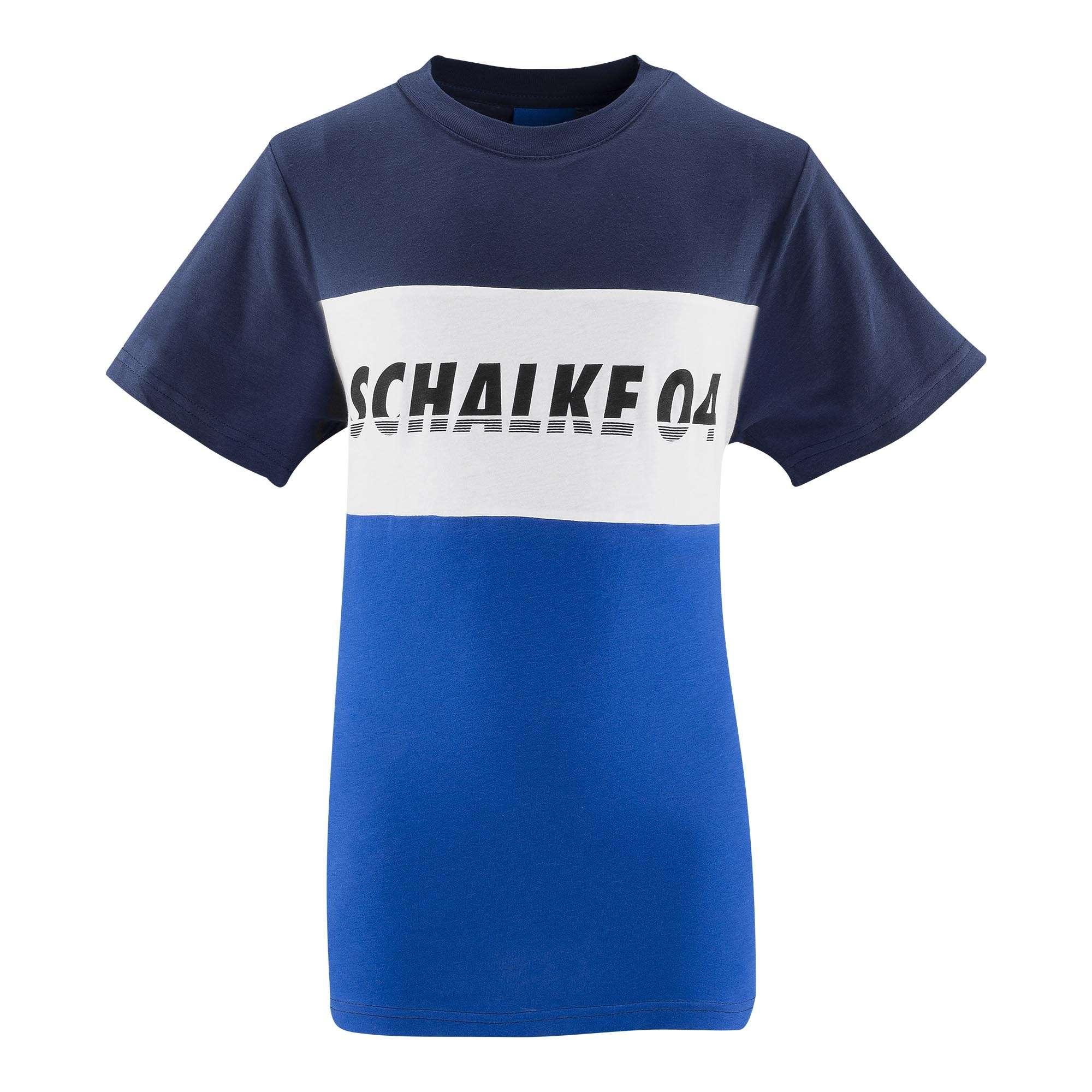 FC Schalke 04 Herrn T-Shirt 1904 Block