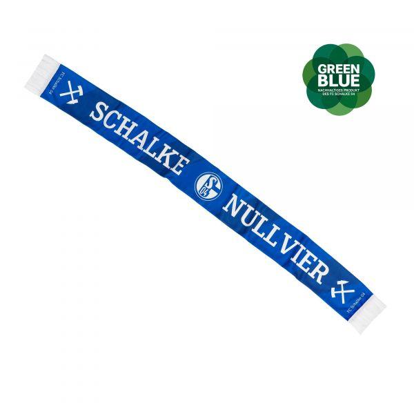FC Schalke 04 Schwenkfahne Karo 60x90 cm
