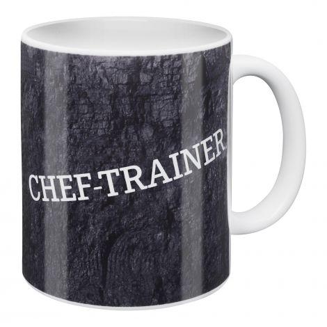 Kaffeebecher Chef Trainer