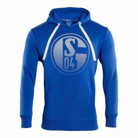 Kapuzen-Sweat Signet königsblau