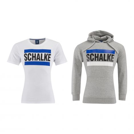 Doppelpack T-Shirt & Kapuzen-Sweat