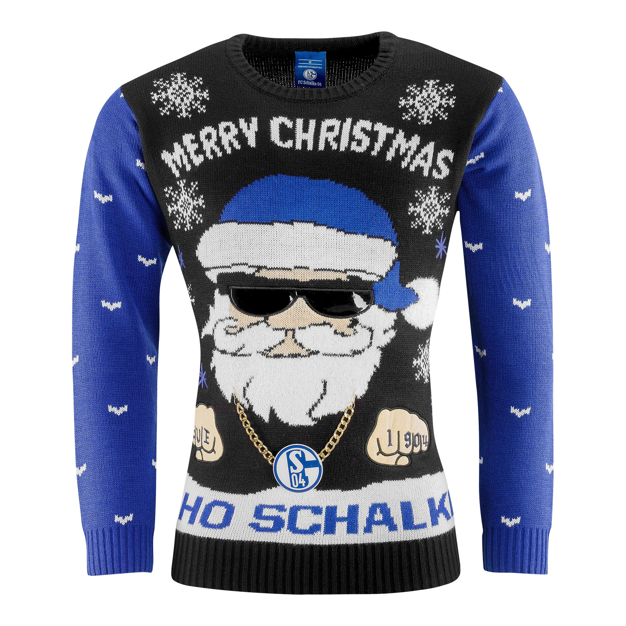 Ugly Christmas Sweater Schalke Ho Ho
