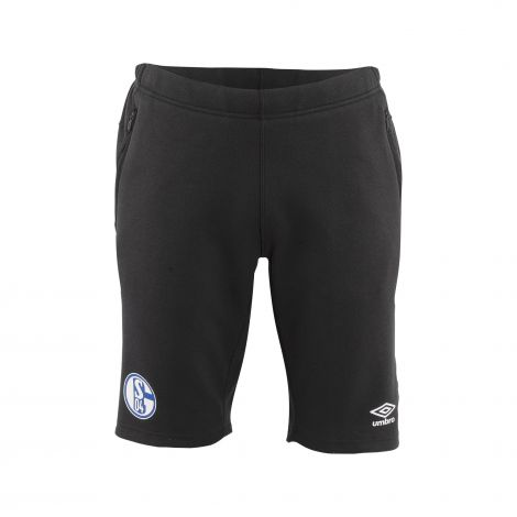 Sweat-Hose kurz Team Kids schwarz