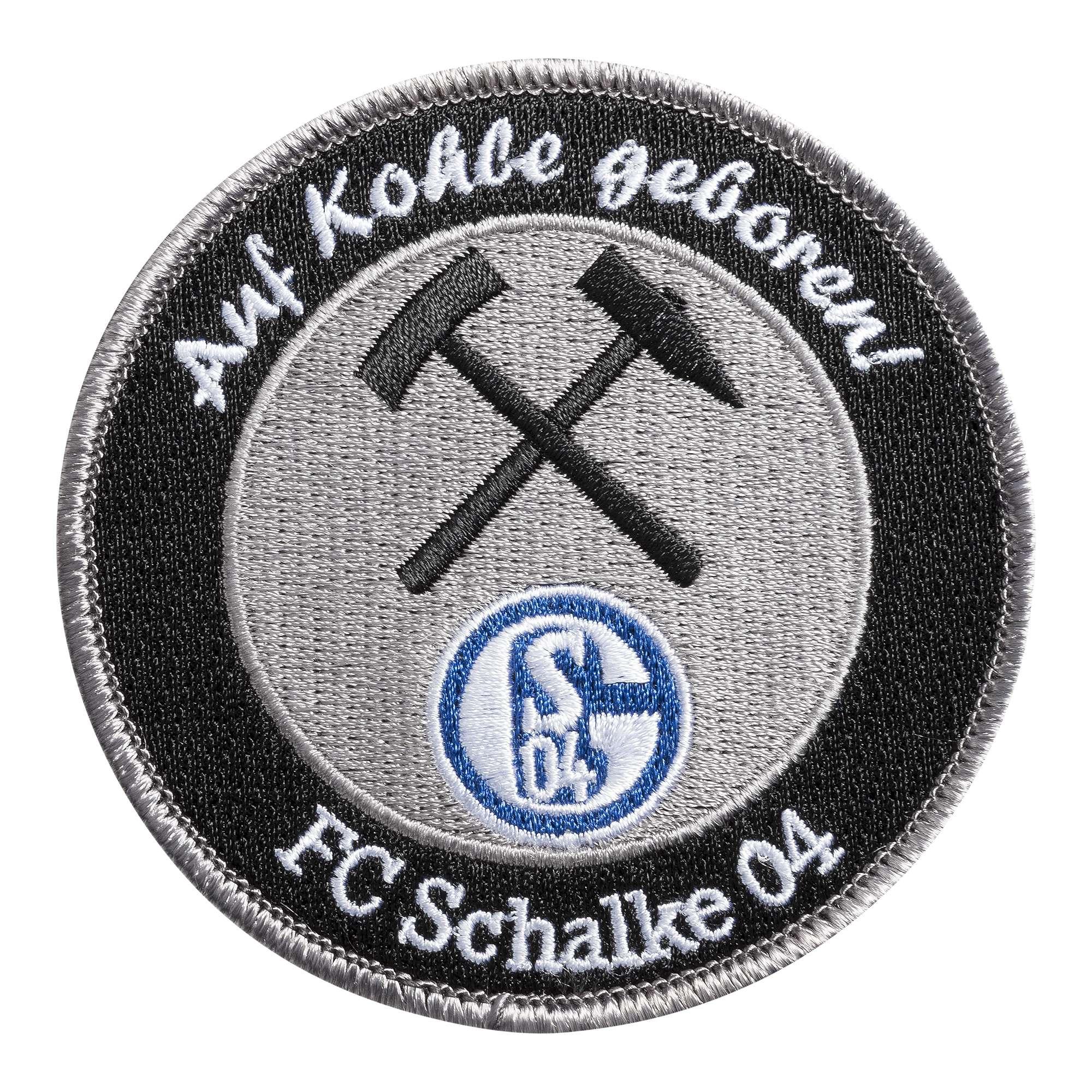 FC Schalke 04 Herren Sweat-Jacke Auf Kohle geboren