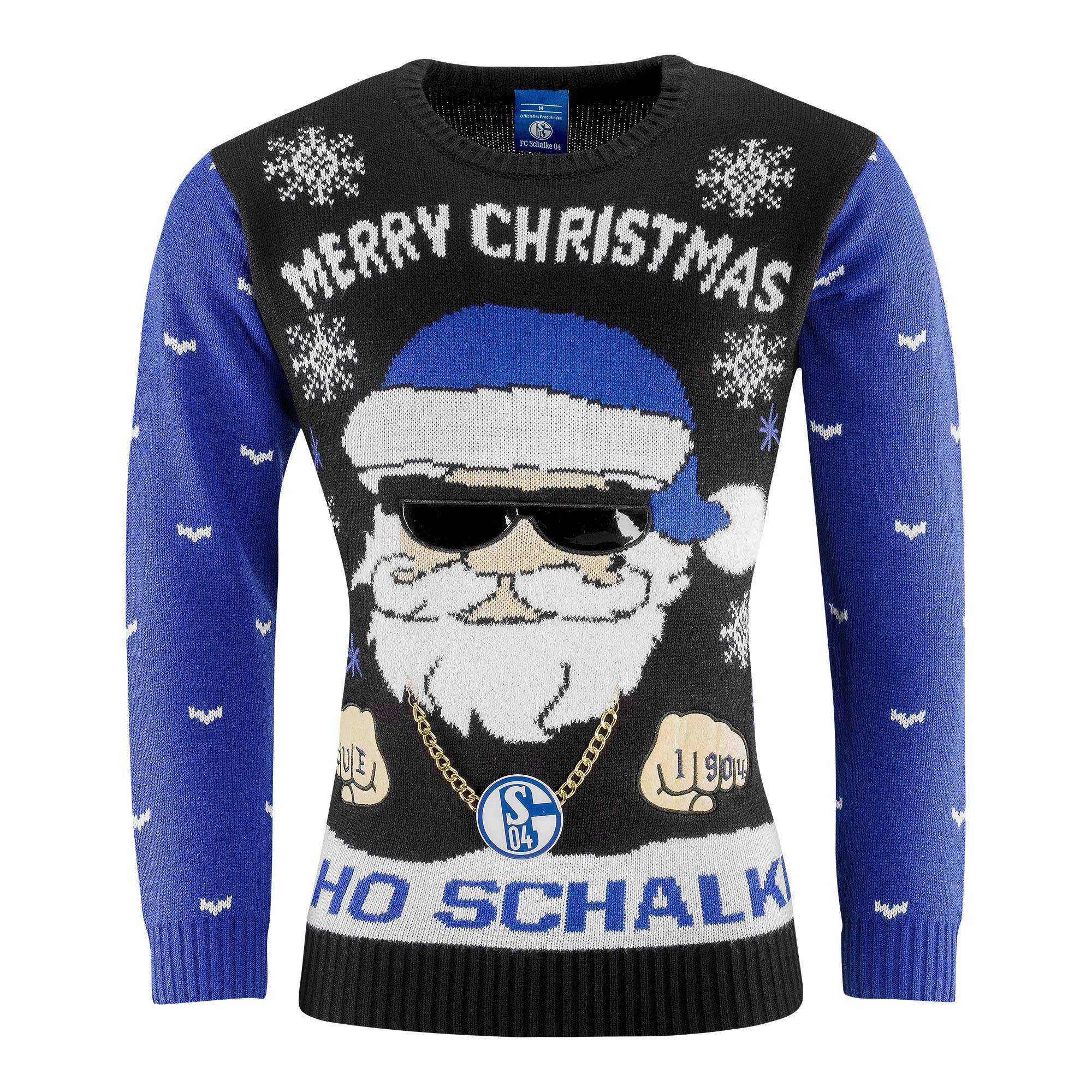 Sweatshirt Ugly Christmas Ho Ho Schalke