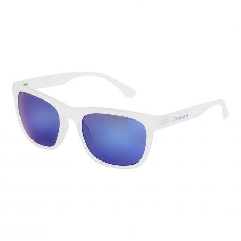 Sonnenbrille weiß verspiegelt