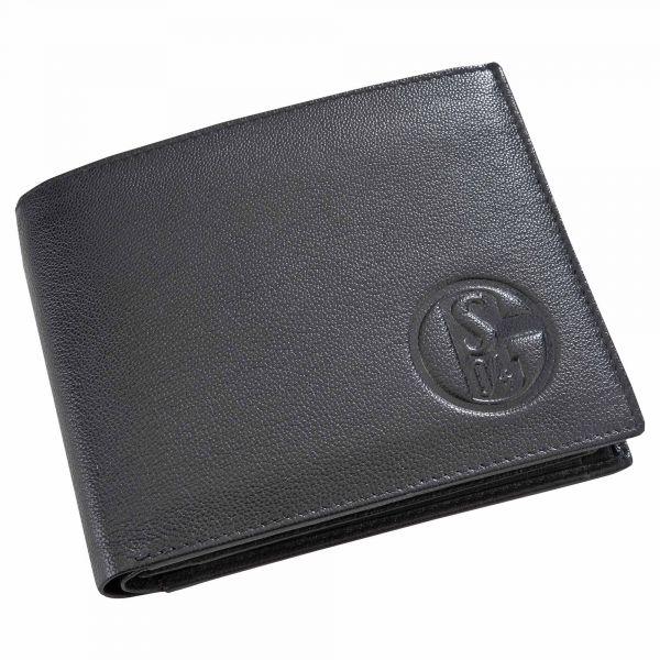 Geldbörse Leder schwarz