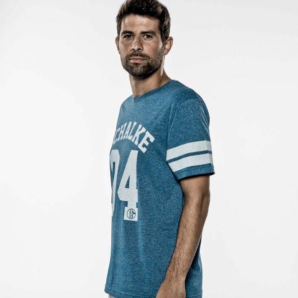 T-Shirt College blue Coke 1