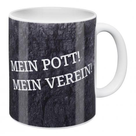 Kaffeebecher Mein Pott! Mein Verein!