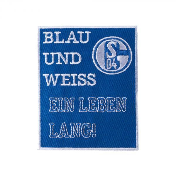 Aufnäher Blau & Weiß
