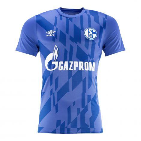 Aufwärm-Shirt Team blau