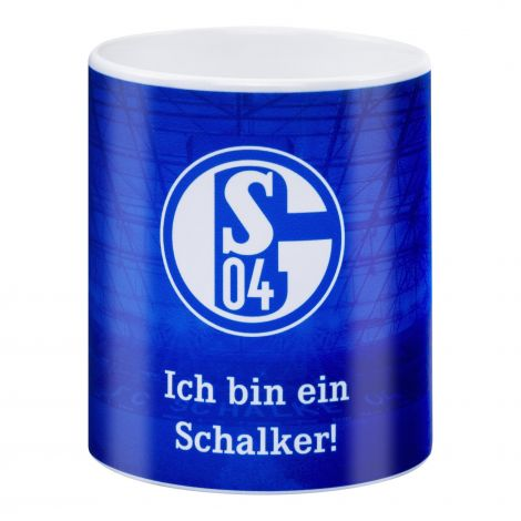 Kaffeebecher Ich bin ein Schalker!