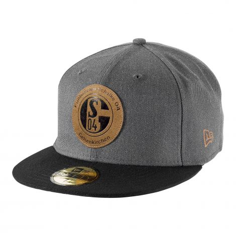 Cap 59Fifty Logo Badge Leather