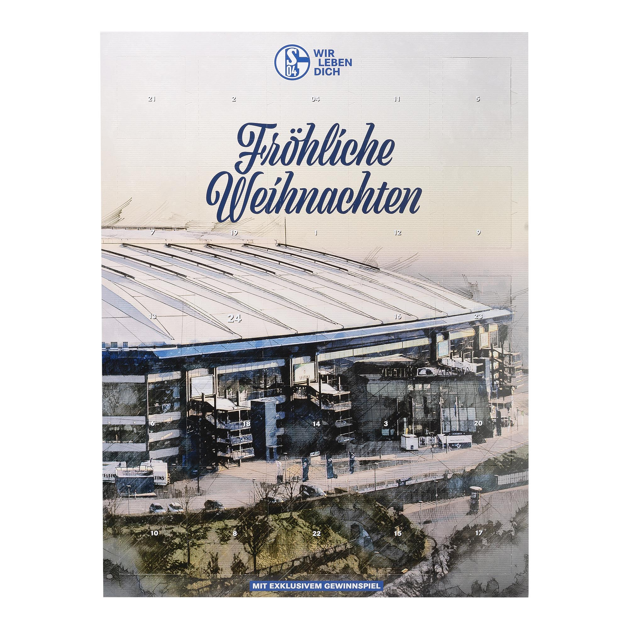 € 7,42//100g FC Schalke 04 Adventskalender 2020 Kalender Tasse Bester Papa S04