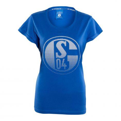 T-Shirt Damen Signet königsblau